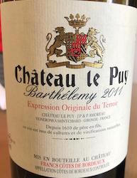 Château Le Puy – der etwas andere Bordeaux-Wein 6