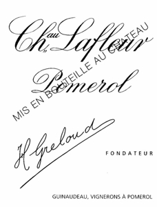 Label Château Lafleur