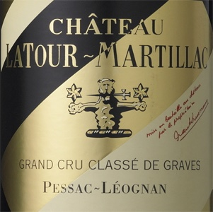 Etikett Château LaTour-Martillac