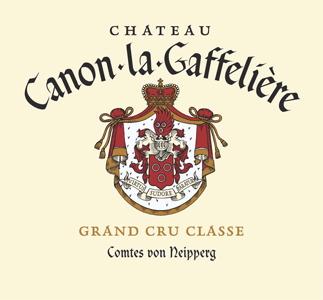 Label Château Canon la Gaffelière
